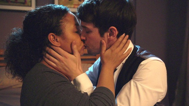 A kiss in Holby