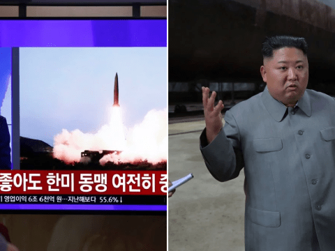 North Korea fires two more missiles in protest over US military drills