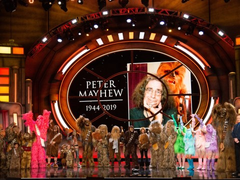 Late Star Wars actor Peter Mayhew honoured with 21 Wookie salute at Comic Con