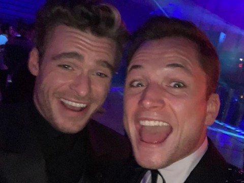 Taron Egerton shares adorable moment with Richard Madden as he 'found out he landed Eternals role'