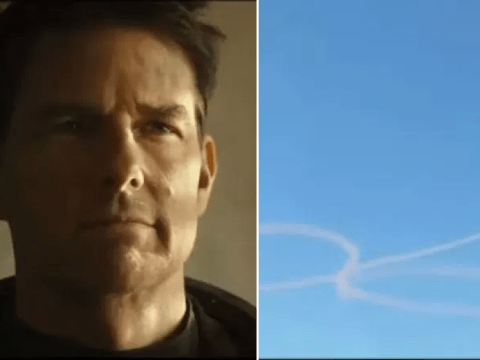 Top Gun: Maverick alternative trailer sees Tom Cruise draw a penis and it can't be unseen