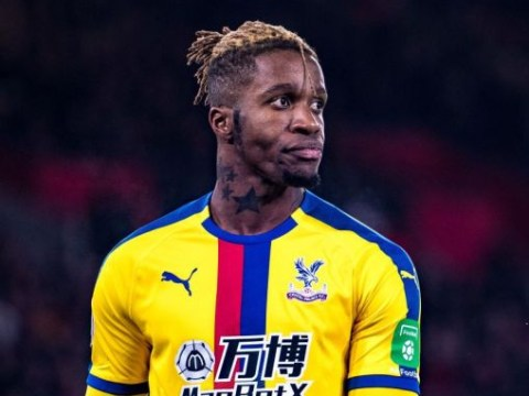 Crystal Palace reject Everton's opening transfer offer for Wilfried Zaha