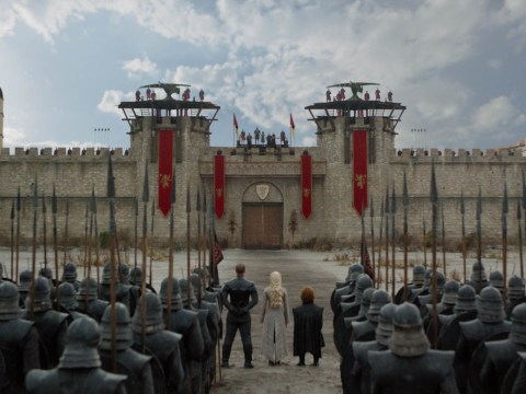 Game of Thrones sets are still standing and fans think there's exciting news ahead