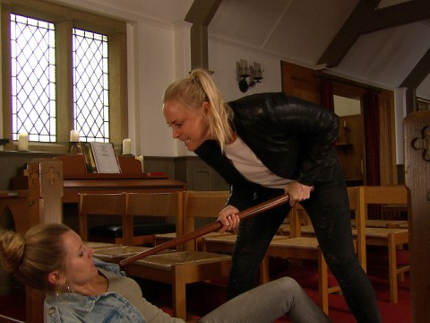 Emmerdale spoilers: Vanessa Woodfield and Tracy Metcalfe destroyed by Frank Clayton's death accusations?