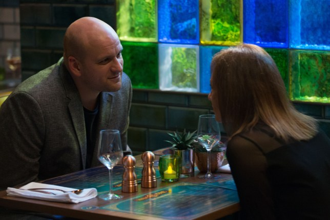Stuart and Rainie in EastEnders