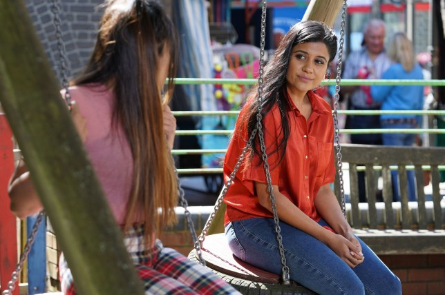 Iqra makes a confession in EastEnders