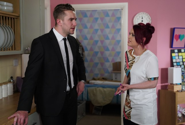 Callum is accused in EastEnders