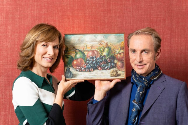 Fake or Fortune Fiona Bruce and Philip Mould