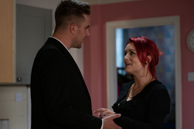 Callum has bad news for Whitney in EastEnders