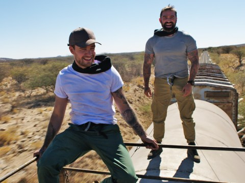 Liam Payne camps outside with dangerous animals on Namibia trip for new TV show