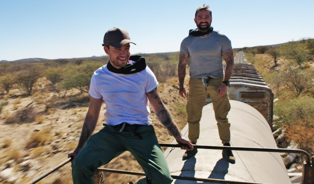 Ant Middleton and Liam Payne