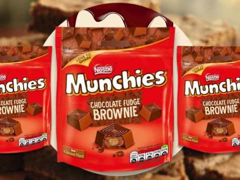 Munchies launches chocolate fudge brownie flavour for just £1