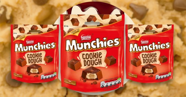 The cookie dough munchies