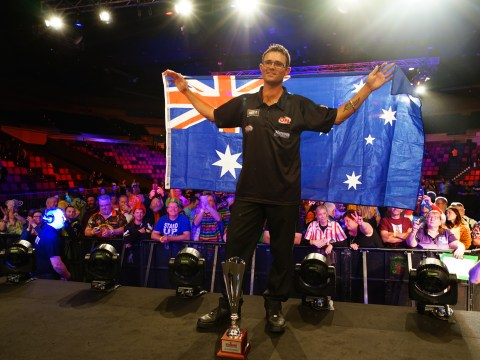Damon Heta continues hot streak with James Wade hammering at Melbourne Darts Masters