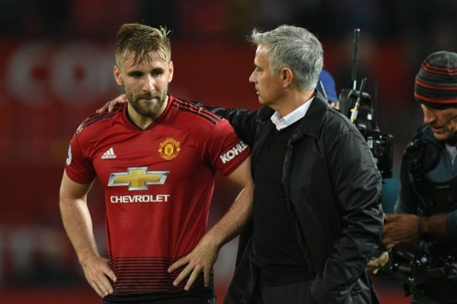 Luke Shaw has taken a subtle dig at Jose Mourinho (Picture: Getty)