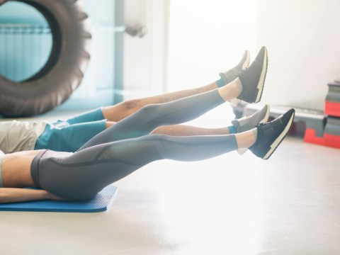 Daily Fitness Challenge: Can you do flutter kicks for more than a minute?