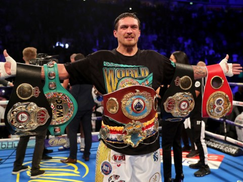 Oleksandr Usyk offers Anthony Joshua some simple advice ahead of Andy Ruiz rematch