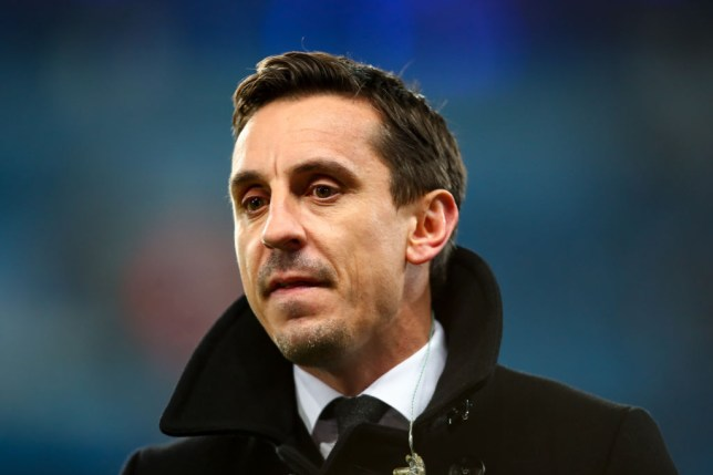 Gary Neville lays into 'terrible' Arsenal defender for mistake that led to Spurs goal