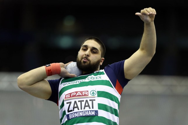 Great Britain shot putter Youcef Zatat was selected over Rabah Yousif by mistake at the European Athletics Team Championships