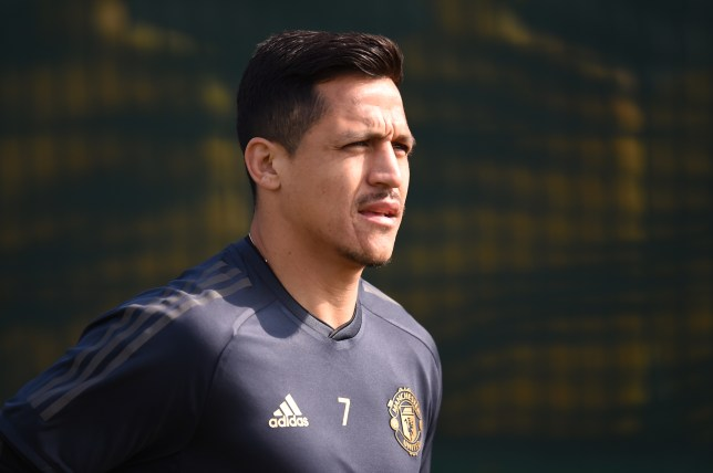 Alexis Sanchez could still be receiving a massive Manchester United pay cheque this season