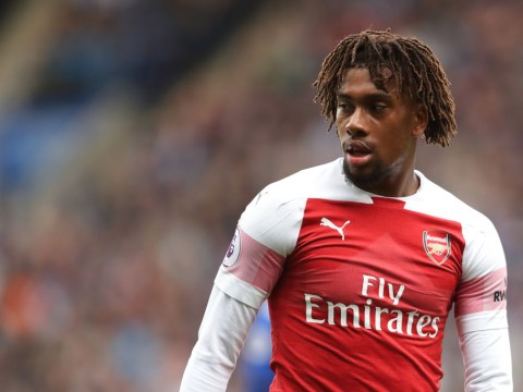 Alex Iwobi sends an emotional message to Arsenal after leaving for Everton on deadline day