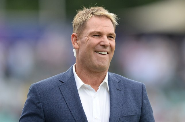 Australian cricketer Shane Warne has been accused of having a loud foursome with the windows open