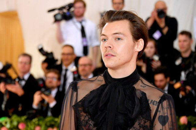 Harry Styles at Met Gala 2019