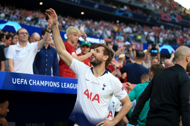 Fernando Llorente was released by Tottenham at the end of last season