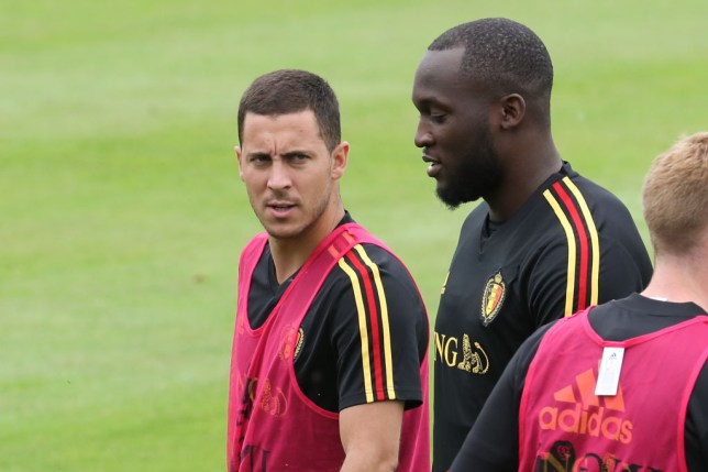 Eden Hazard has sent a message to new Inter Milan signing Romelu Lukaku