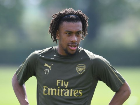 Arsenal heroes Ian Wright and Kanu send messages to Alex Iwobi after move to Everton