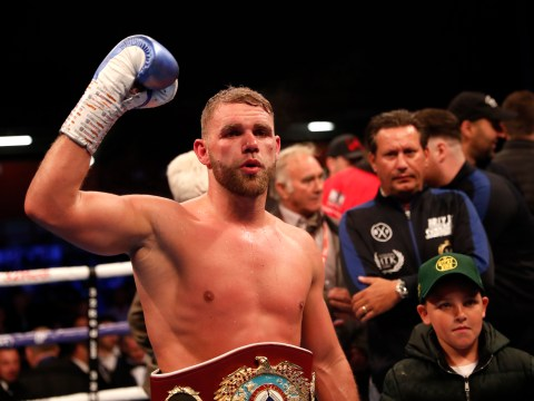Billy Joe Saunders wants to fight Callum Smith at Anfield or the Emirates as Eddie Hearn talks up bout