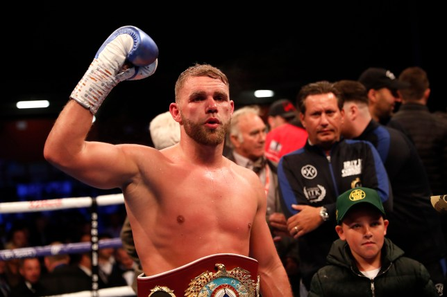Billy Joe Saunders will defend his belt later this year before looking to unify in 2020