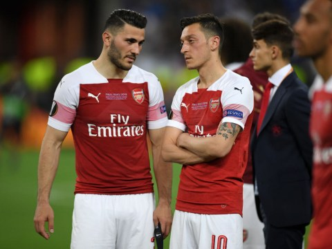 Arsenal's Mesut Ozil and Sead Kolasinac involved in 'old school gangland turf war'