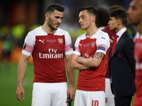 Arsenal's Mesut Ozil and Sead Kolasinac involved in 'old school gangland turf war'