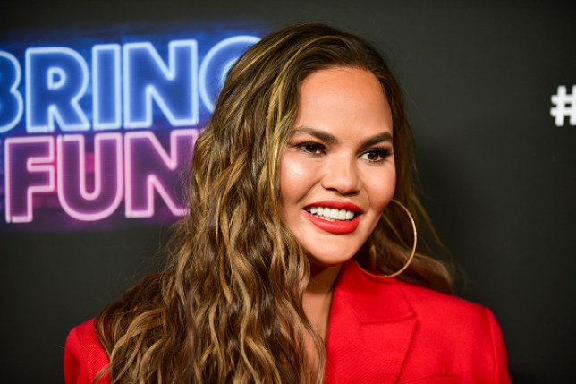 Chrissy Teigen is poorly with a stomach bug (Picture: Rodin Eckenroth/FilmMagic)