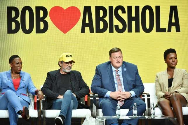 Bob Hearts Abishola panel in the US