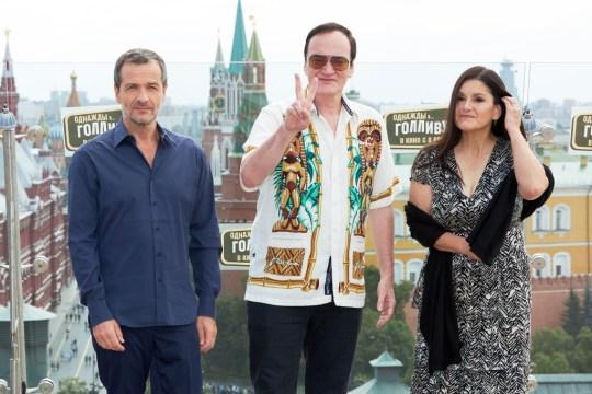 David Heyman, Quentin Tarantino and Shannon McIntosh