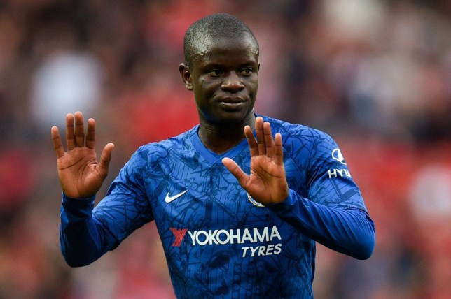 N'Golo Kante is struggling with an ankle injury for Chelsea