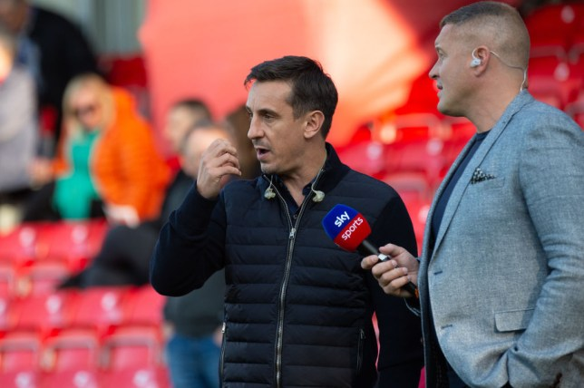 Gary Neville defends Arsenal's performance in defeat to Liverpool