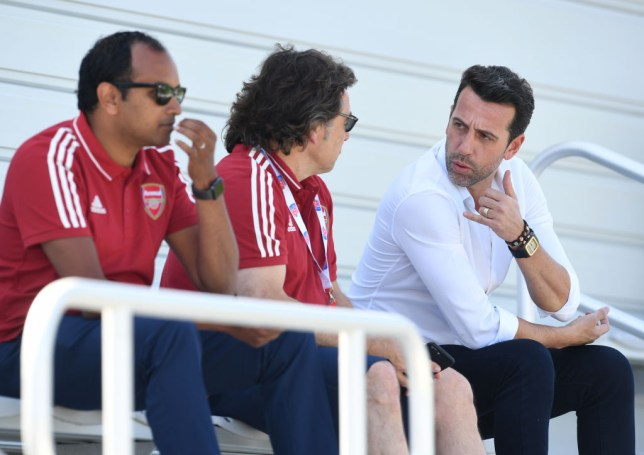 Edu began his role as Arsenal's director of football last month