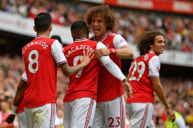 Unai Emery rates Dani Ceballos and David Luiz's full debuts for Arsenal