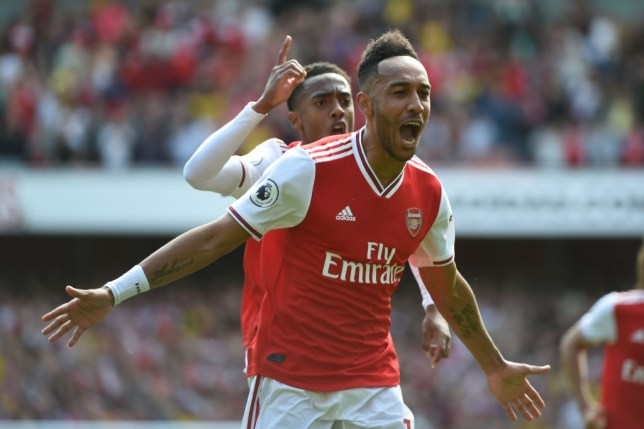 Pierre-Emerick Aubameyang has scored Arsenal's winning goals in their two games so far this season