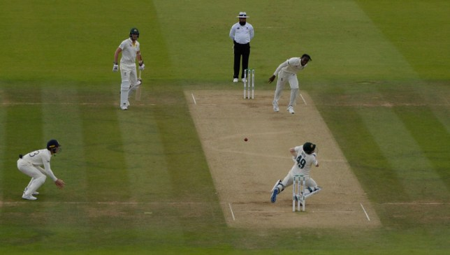 Jofra Archer hit Steve Smith with a fierce bouncer during the second Ashes Test