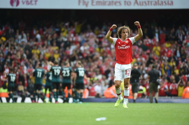 David Luiz swapped Chelsea for Arsenal this summer