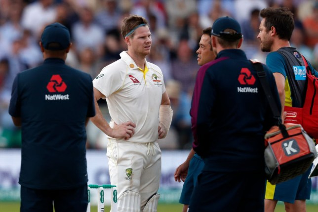 Steve Smith has been ruled out of the Lord's Test with concussion