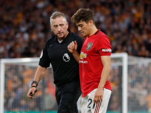 Ole Gunnar Solskjaer sends message to Daniel James after 'dive' against Wolves