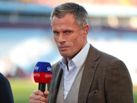 Jamie Carragher says Arsenal cannot keep a clean sheet against Liverpool so must go all-out attack