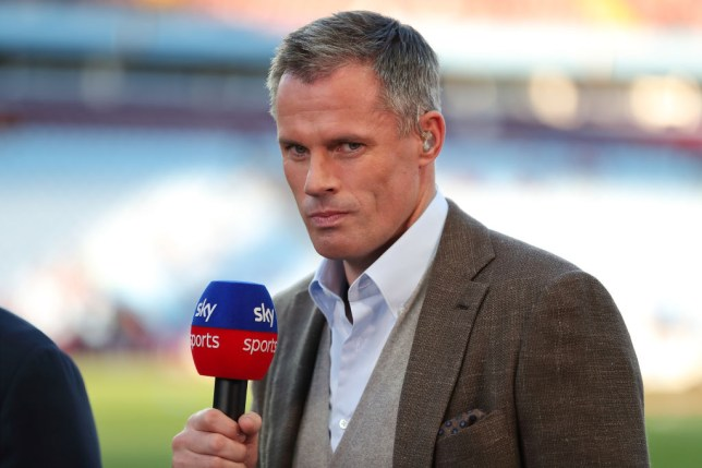 Jamie Carragher tells Unai Emery the only way Arsenal can get a result against Liverpool