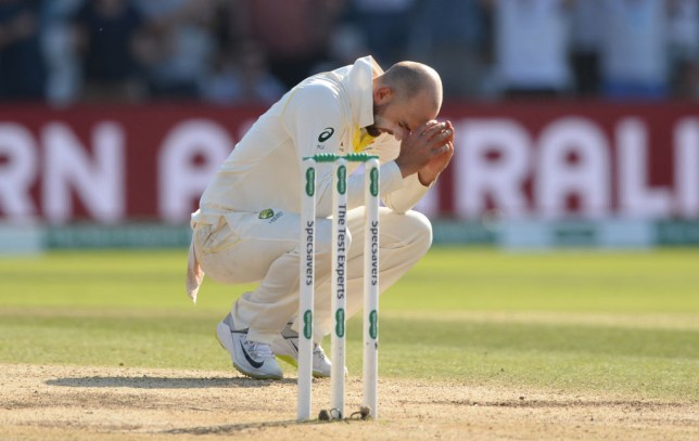 Glenn McGrath says Nathan Lyon was 'absolutely devastated' following Australia's defeat to England in the third Ashes Test