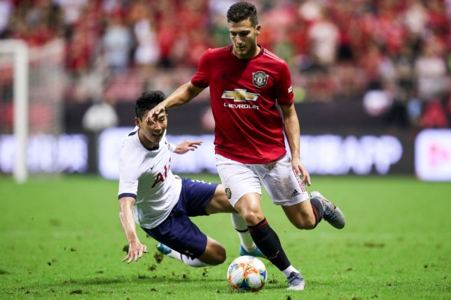 Diogo Dalot did not make the squad that took on Wolves